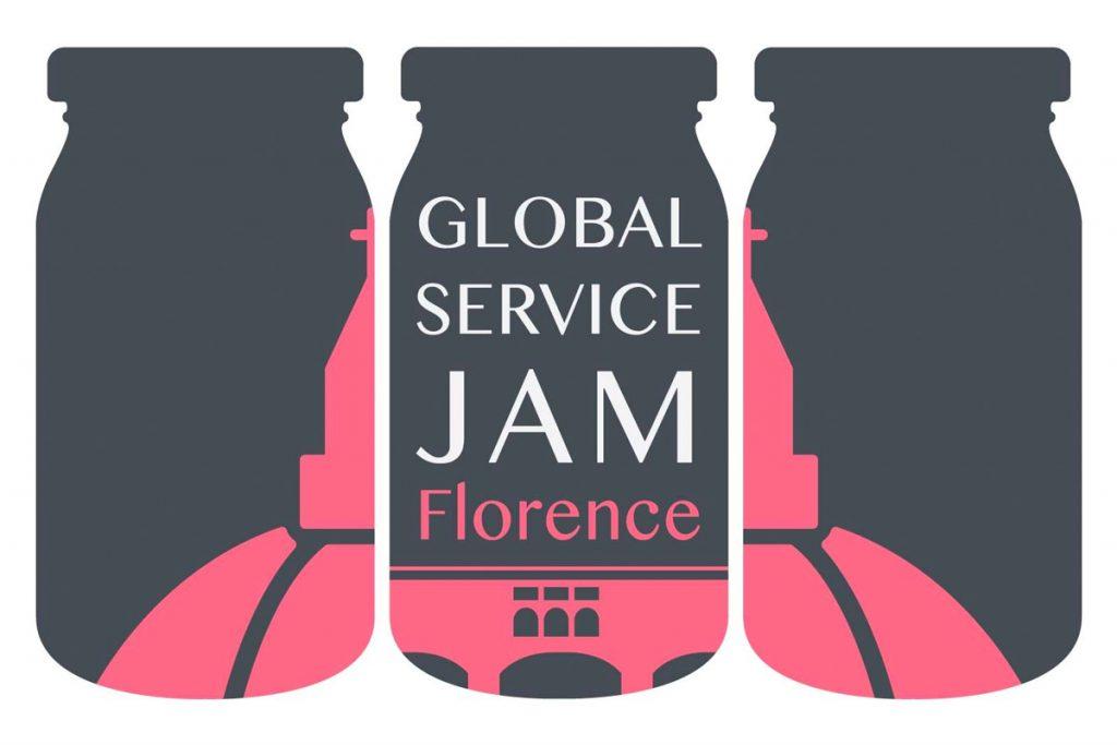 Logo Global Service Jam Florence