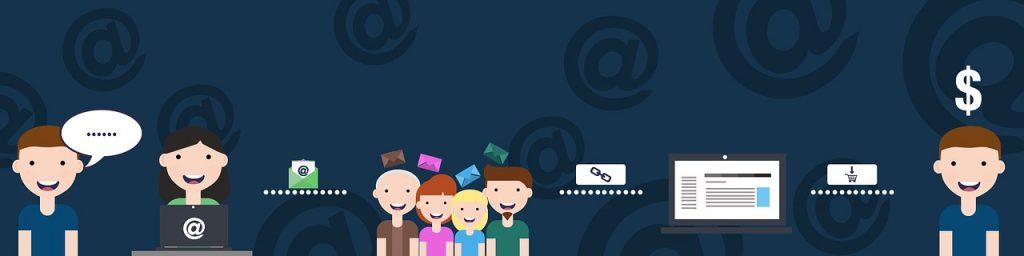 Illustrazione mail marketing
